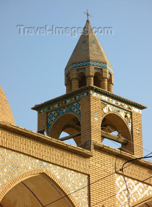 iran524: Isfahan / Esfahan, Iran: Vank Cathedral - small belfry - Armenian Orthodox Church - Jolfa, the Armenian quarter - photo by N.Mahmudova - (c) Travel-Images.com - Stock Photography agency - Image Bank