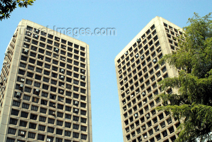 iran69: Iran - Tehran - apartment buildings - Keshavarz Blvd - photo by M.Torres - (c) Travel-Images.com - Stock Photography agency - Image Bank