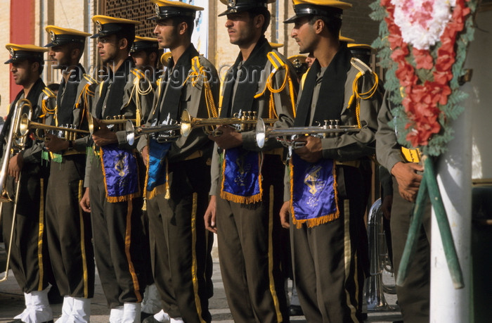 iran7: Iran - Isfahan: Naghsh-i Jahan Square - Day of Ashura - military band - photo by W.Allgower - (c) Travel-Images.com - Stock Photography agency - Image Bank
