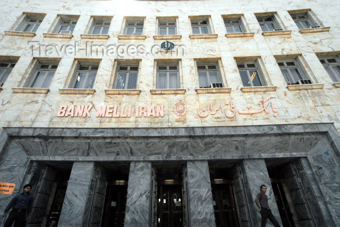 iran73 : Iran - Tehran - Bank Melli Iran - photo by M.Torres - (c) Travel-Images.com - Stock Photography agency - Image Bank