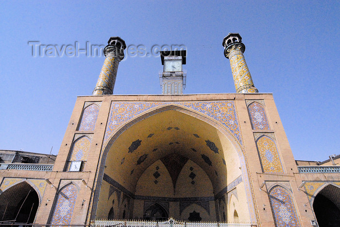 iran80: Iran - Tehran - bazar mosque - vault - photo by M.Torres - (c) Travel-Images.com - Stock Photography agency - Image Bank
