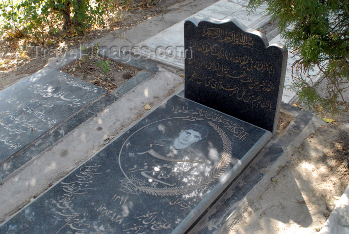 iran82: Iran - Tehran - Behesht Zahra cemetery - photo by M.Torres - (c) Travel-Images.com - Stock Photography agency - Image Bank