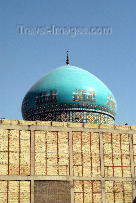 iran88: Iran - Tehran - Iman Khomeini mausoleum - dome - photo by M.Torres - (c) Travel-Images.com - Stock Photography agency - Image Bank