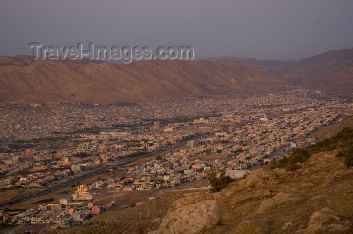 iraq104: Duhok / Dohuk / Dehok / Dahok, Kurdistan, Iraq: the city from the hills - photo by J.Wreford - (c) Travel-Images.com - Stock Photography agency - Image Bank