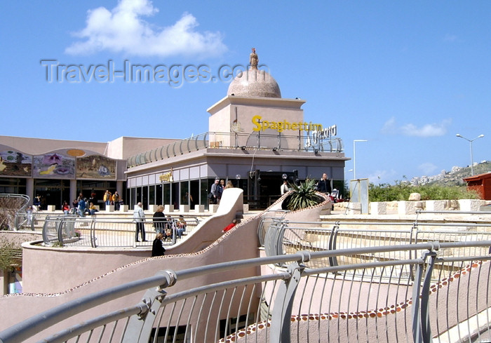 israel117: Haifa, Israel: shopping complex - photo by E.Keren - (c) Travel-Images.com - Stock Photography agency - Image Bank
