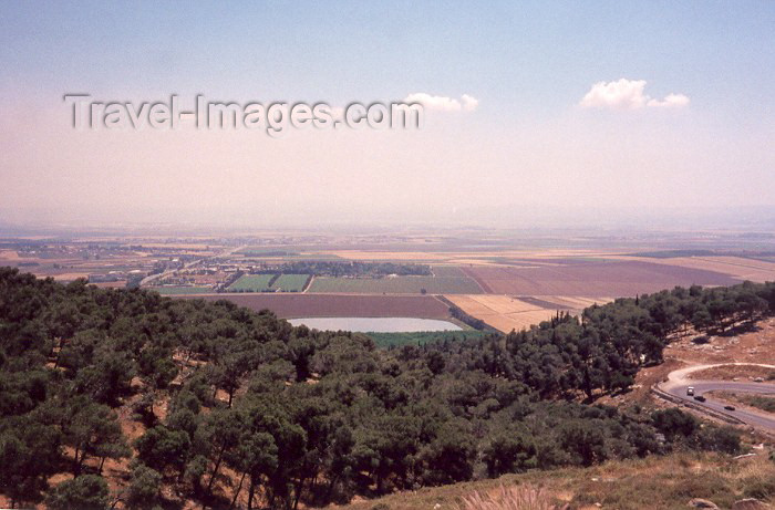 israel16: Israel - Over Jezreel Valley - Lower Galilee, North District - photo by M.Torres - (c) Travel-Images.com - Stock Photography agency - Image Bank