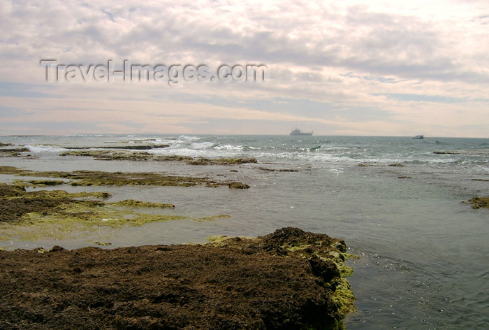 israel162: Israel - Kibbutz Sdot Yam: Mediterranean shore - photo by Efi Keren - (c) Travel-Images.com - Stock Photography agency - Image Bank