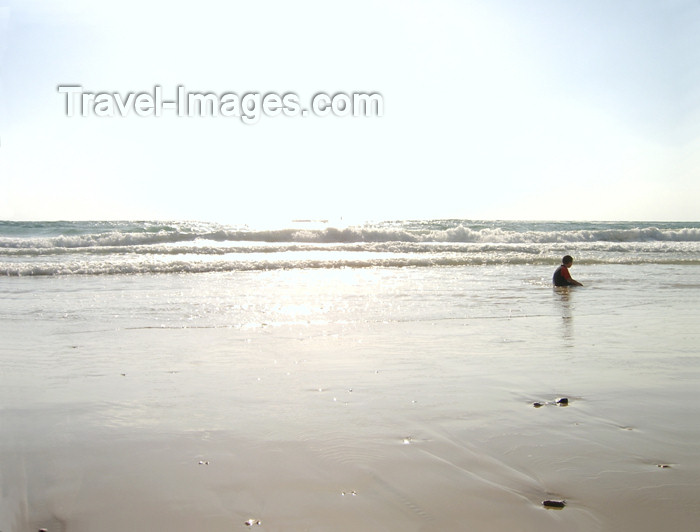 israel167: Israel - Kibbutz Sdot Yam: on the beach - photo by Efi Keren - (c) Travel-Images.com - Stock Photography agency - Image Bank