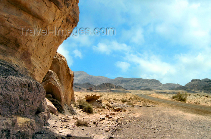 israel187: Israel - Eilat - Timna Valley Park: erosion - southwestern Arava, a section of the Great Rift Valley - photo by Efi Keren - (c) Travel-Images.com - Stock Photography agency - Image Bank