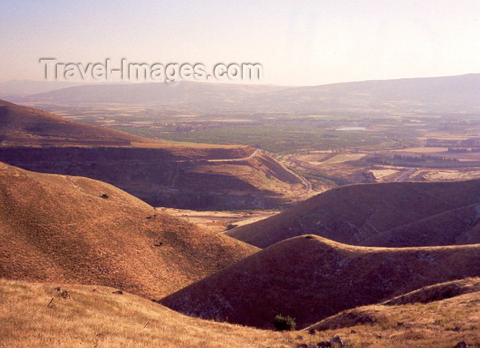 israel2: Israel - Golan Heights: undulating hills - photo by M.Torres - (c) Travel-Images.com - Stock Photography agency - Image Bank