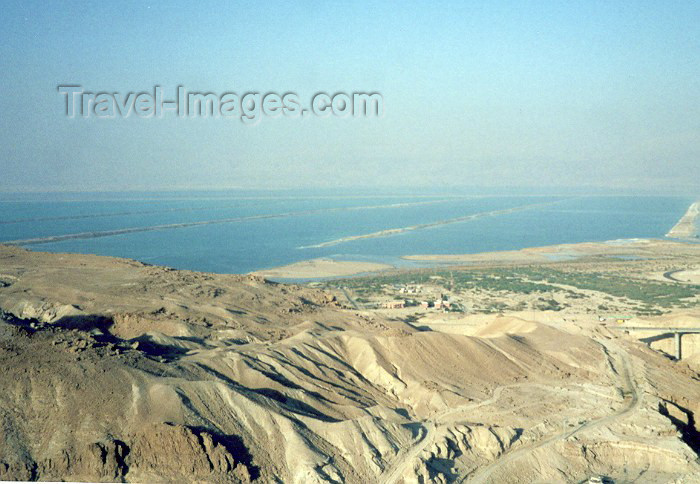 israel20: Israel - Massada / Masada: over the Dead Sea - Yam Ha-Melaha - Unesco world heritage site - photo by M.Torres - (c) Travel-Images.com - Stock Photography agency - Image Bank