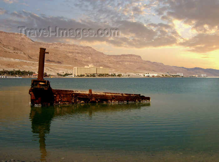israel209: Israel - Dead sea: rusting - photo by Efi Keren - (c) Travel-Images.com - Stock Photography agency - Image Bank