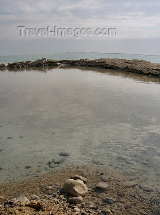 israel218: Israel - Dead sea: salt island - photo by Efi Keren - (c) Travel-Images.com - Stock Photography agency - Image Bank