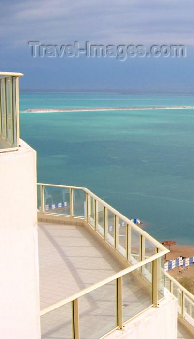 israel219: Israel - Dead sea - Neve-Zohar: Hotel Novotel Thalassa Dead Sea - view - photo by Efi Keren - (c) Travel-Images.com - Stock Photography agency - Image Bank