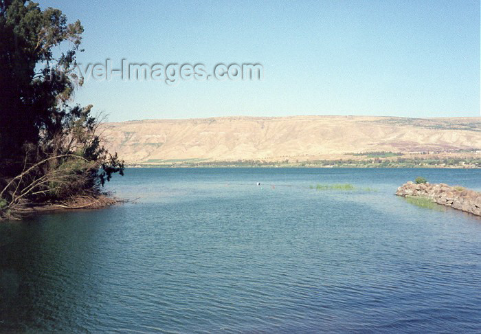 israel22: Israel - Deganya: the Jordan River leaves the Sea of Galilee / Yam Kinneret / Kineret lake - photo by M.Torres - (c) Travel-Images.com - Stock Photography agency - Image Bank