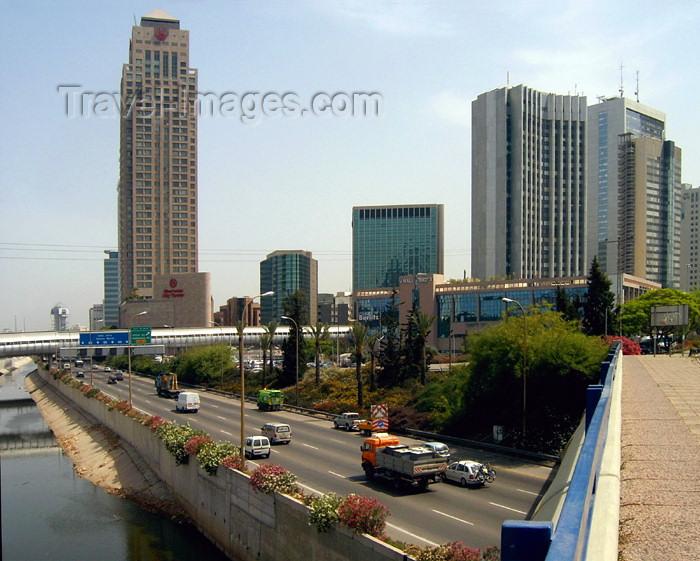 israel228: Israel - Ramat Gan / Ramat-Gan, Tel Aviv district: Israeli Manhattan - Sheraton area - photo by Efi Keren - (c) Travel-Images.com - Stock Photography agency - Image Bank