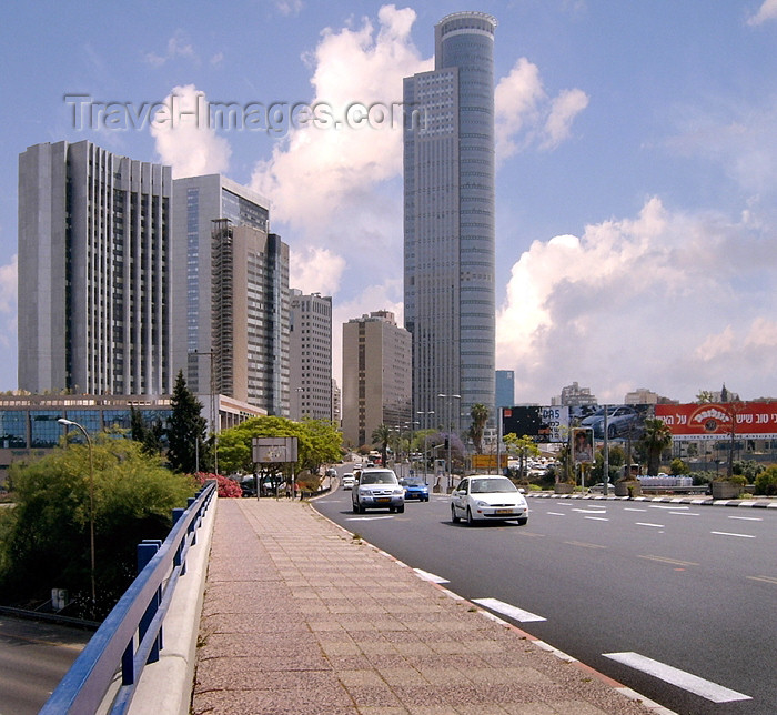 israel229: Israel - Ramat Gan: City Gate Ramat Gan - tallest building in the Israel - Diamond Exchange District - Moshe Aviv Tower - architect: AMAV Architects - photo by Efi Keren - (c) Travel-Images.com - Stock Photography agency - Image Bank
