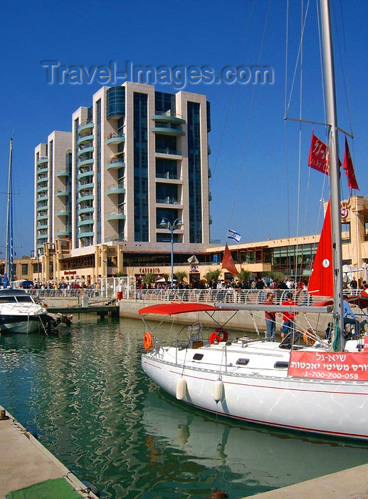 israel232: Israel - Hertzlia / Herzliya, Tel Aviv District: marina - photo by E.Keren - (c) Travel-Images.com - Stock Photography agency - Image Bank