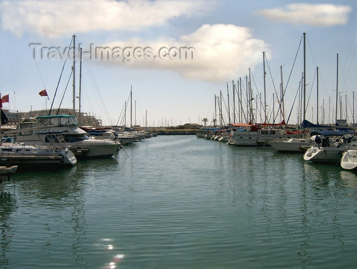 israel233: Israel - Herzliya: boats in the largest marina in Israel - photo by E.Keren - (c) Travel-Images.com - Stock Photography agency - Image Bank