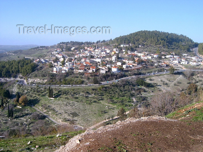 israel241: Israel - Tzfat, Northern District: in the distance - photo by E.Keren - (c) Travel-Images.com - Stock Photography agency - Image Bank