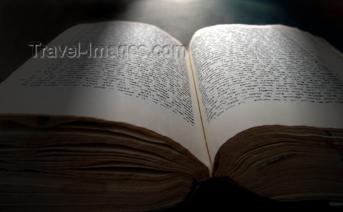 israel243: Israel: Hebrew Bible - photo by E.Keren - (c) Travel-Images.com - Stock Photography agency - Image Bank