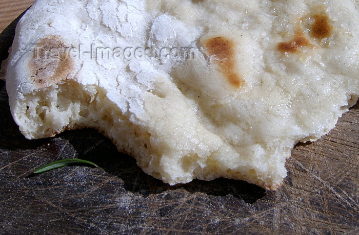 israel244: Israel - Pita bread with melted butter - Middel eastern food - photo by E.Keren - (c) Travel-Images.com - Stock Photography agency - Image Bank