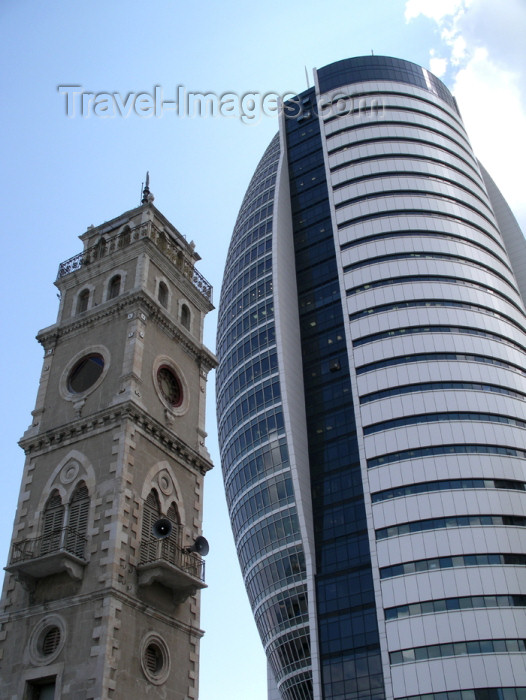 israel252: Haifa, Israel: coexistence of Israel - tower and office building - Sail Tower - photo by E.Keren - (c) Travel-Images.com - Stock Photography agency - Image Bank