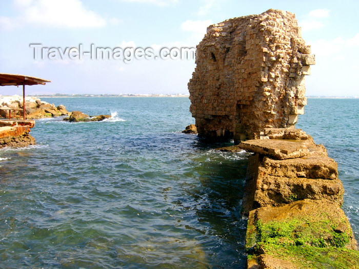 israel303: Israel - Acre - ruins of old Akko dilapidated by the Mediterranean sea - photo by E.Keren - (c) Travel-Images.com - Stock Photography agency - Image Bank