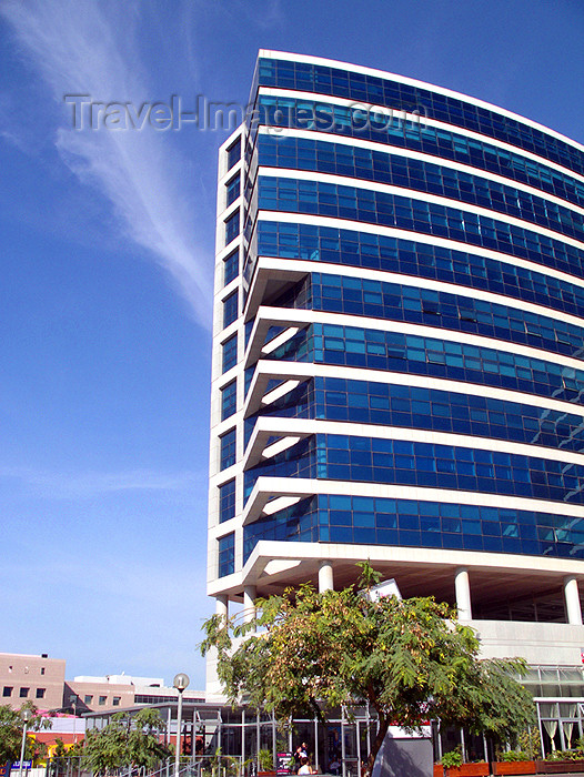 israel319: Israel - Herzliya: Hi-Tech Architecture - Abba Eban Avenue - photo by E.Keren - (c) Travel-Images.com - Stock Photography agency - Image Bank