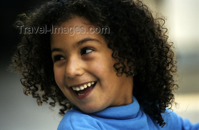 israel346: Israel - Akko / Acre: curly Jewish girl - photo by W.Allgöwer - (c) Travel-Images.com - Stock Photography agency - Image Bank