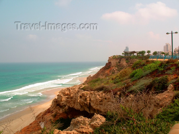 israel356: Netanya, Center district, Israel: overlooking the Mediterranean Sea - photo by E.Keren - (c) Travel-Images.com - Stock Photography agency - Image Bank