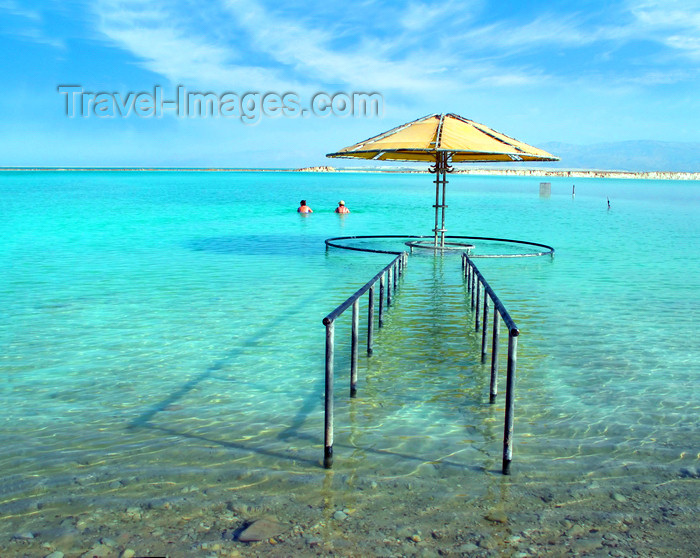israel368: Dead sea, Israel: entrance to the sea - photo by E.Keren - (c) Travel-Images.com - Stock Photography agency - Image Bank
