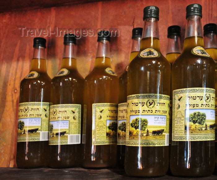 israel415: Deir Rafat monastery, Mateh Yehuda region, Jerusalem district, Israel: olive oil produced at the monastery in the olive orchards near Beit Shemesh - photo by M.Torres