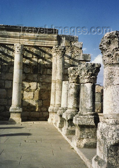 israel42: Israel - Sea of Galilee / Lake Tiberias: Capernaum - Byzantine ruins - photo by G.Frysinger - (c) Travel-Images.com - Stock Photography agency - Image Bank