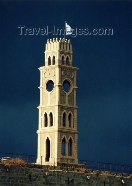 israel59: Israel - Akko / Acre: Khan Al-Umdan - the tower - citadel - photo by J.Kaman - (c) Travel-Images.com - Stock Photography agency - Image Bank