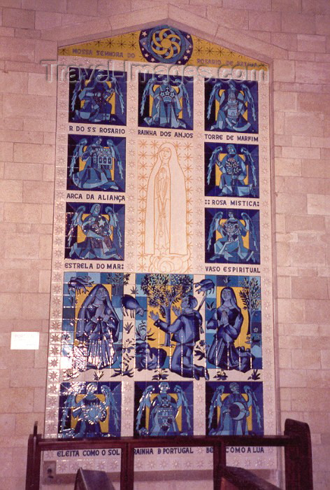 israel6: Israel - Nazareth of the Annunciation, North district: Portuguese tiles in the Galilee - Basilica of the Annunciation - photo by M.Torres - (c) Travel-Images.com - Stock Photography agency - Image Bank