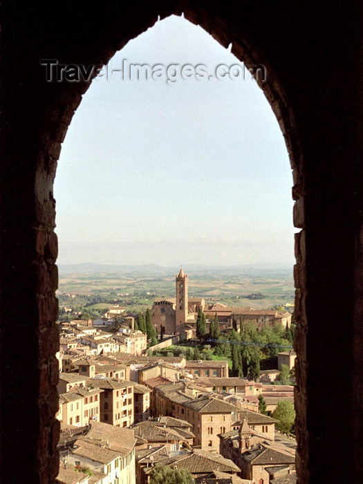 italy116: Italy / Italia - Siena (Toscany / Toscana) / FLR : from the Mangia tower - photo by M.Bergsma - (c) Travel-Images.com - Stock Photography agency - Image Bank