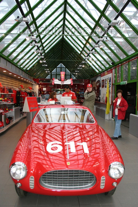 italy120: Maranello - Modena (Emilia-Romagna): Galleria Ferrari - inside (photo by C.Blam) - (c) Travel-Images.com - Stock Photography agency - Image Bank