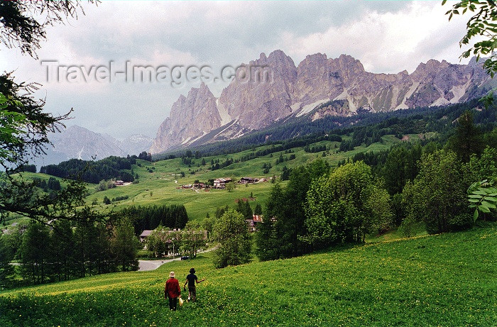 italy137: Cortina d'Ampezzo (Veneto - Belluno province): in the Dolomites - Unesco world heritage - photo by J.Rabindra - (c) Travel-Images.com - Stock Photography agency - Image Bank