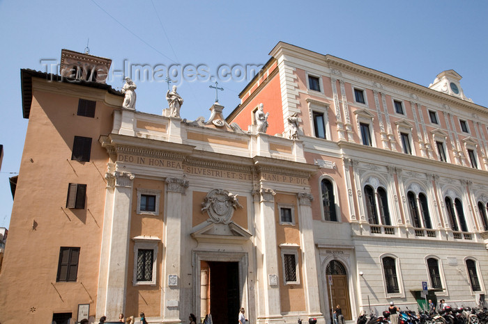 italy367: Rome, Italy: Santa Maria in Via in Piazza San Silvestro - photo by I.Middleton - (c) Travel-Images.com - Stock Photography agency - Image Bank