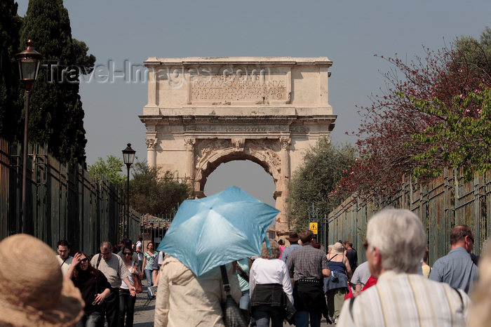 italy380: Rome, Italy - Arch of Titus  - Arch of Titus - constructed by the emperor Domitian - photo by A.Dnieprowsky / Travel-images.com - (c) Travel-Images.com - Stock Photography agency - Image Bank