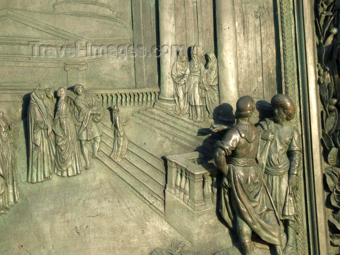 italy409: Pisa, Tuscany - Italy: door of the Duomo, detail - photo by M.Bergsma - (c) Travel-Images.com - Stock Photography agency - Image Bank