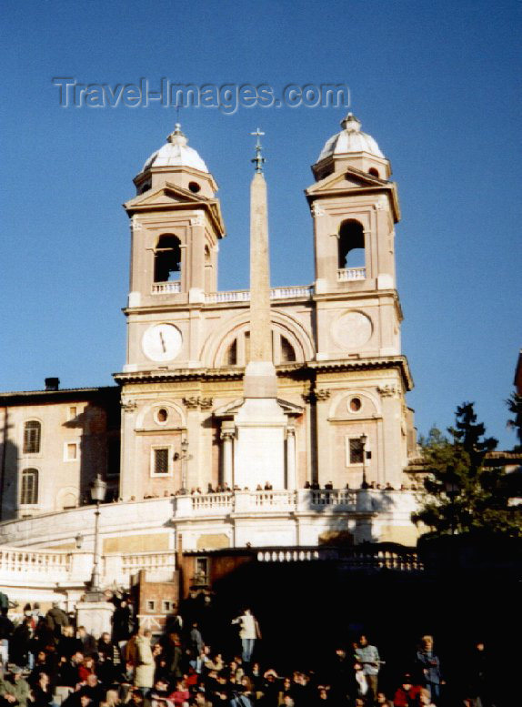 italy41: Italy / Italia - Rome: Spanish steps - Scalinata della Trinità dei Monti - photo by M.Torres - (c) Travel-Images.com - Stock Photography agency - Image Bank