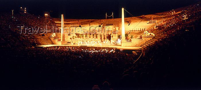 italy432: Italy - Verona, Veneto: opera - Giuseppe Verdi's Aida performed at the Arena di Verona - photo by W.Allgower - (c) Travel-Images.com - Stock Photography agency - Image Bank