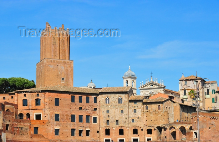 italy462: Rome, Italy: Markets of Trajan and Torre delle Milizie - Via Biberatica  - photo by M.Torres - (c) Travel-Images.com - Stock Photography agency - Image Bank