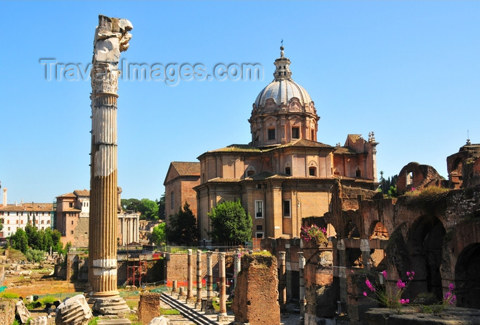 italy464: Rome, Italy: Forum of Caesar and Church of Saints Luke and Martina - Caesaris, Forum Romanum - photo by M.Torres - (c) Travel-Images.com - Stock Photography agency - Image Bank