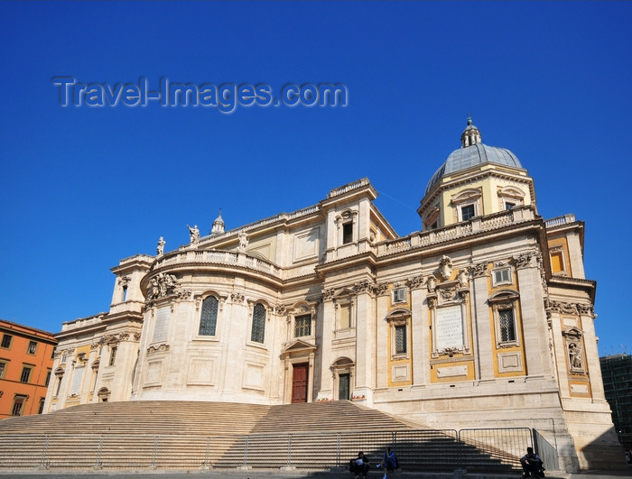 italy475: Rome, Italy: apse of the Basilica di Santa Maria Maggiore - Piaza dell'Esquilino - photo by M.Torres - (c) Travel-Images.com - Stock Photography agency - Image Bank