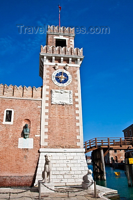 italy496: Arsenale, Venice - photo by A.Beaton - (c) Travel-Images.com - Stock Photography agency - Image Bank