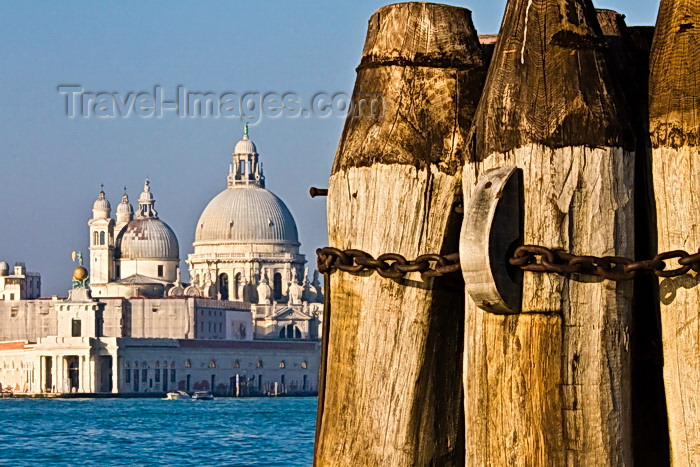 italy522: Venice, Italy: Basilica S. Maria della Salute across Canale di San Marco - photo by A.Beaton - (c) Travel-Images.com - Stock Photography agency - Image Bank