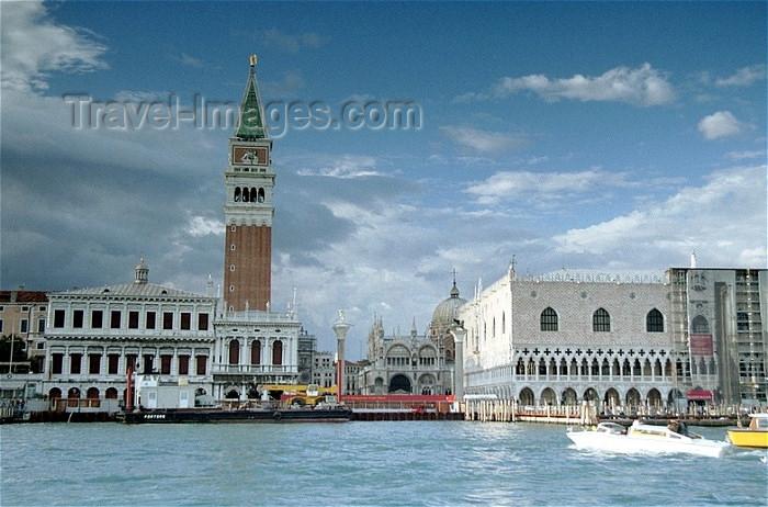 italy92: Italy - Venice / Venezia (Venetia / Veneto) / VCE : Venice: Biblioteca Marciana / Palazzo dela Zecca and Palazzo Ducal - Venice and its Lagoon - Unesco world heritage site (photo by J.Kaman) - (c) Travel-Images.com - Stock Photography agency - Image Bank